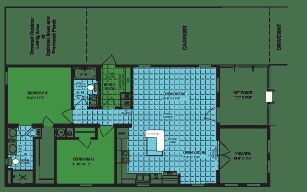 Zephyr Foor Plan