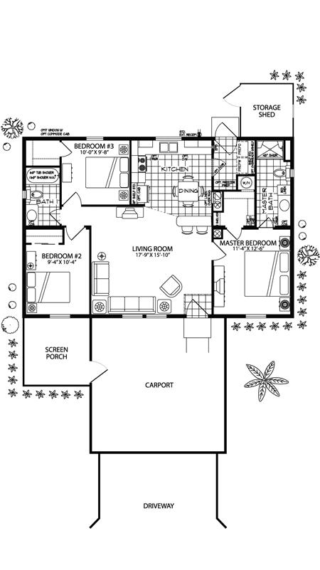 Bristol Floor Plan