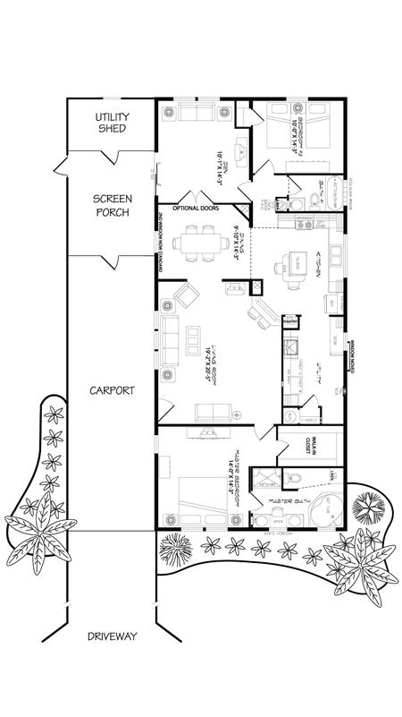 Live Oak Floor Plan