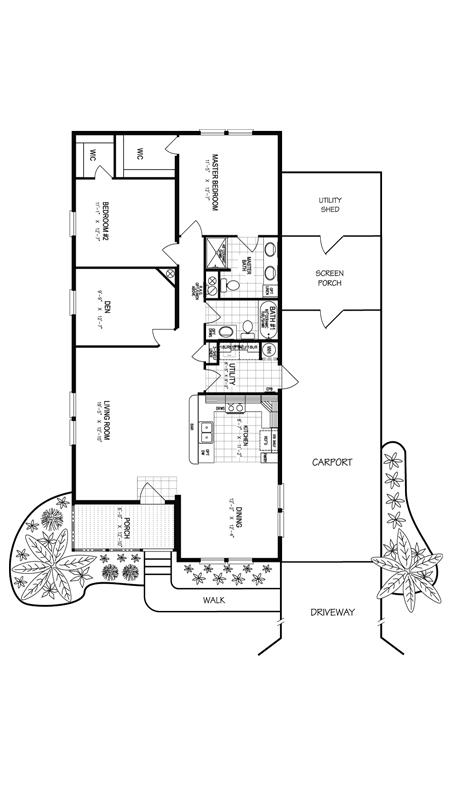 Tall Pine Floor Plan