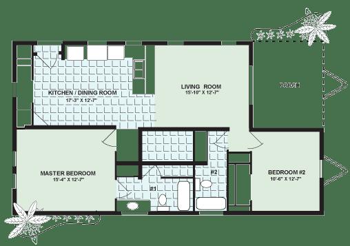 The Buena Vista II Floor Plan