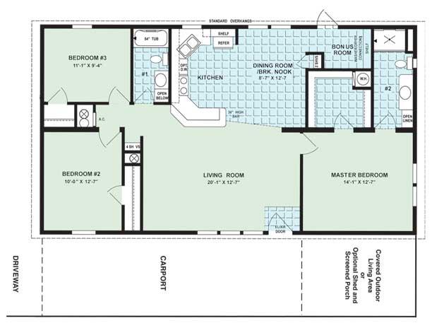The Magnolia Floor Plan