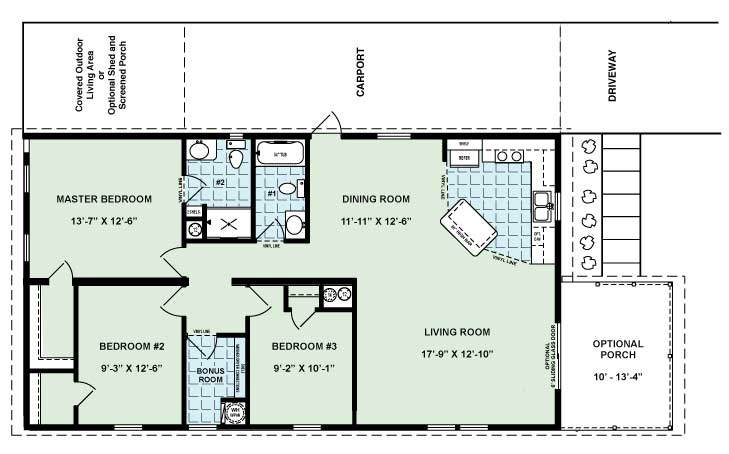 The Sycamore Floor Plan