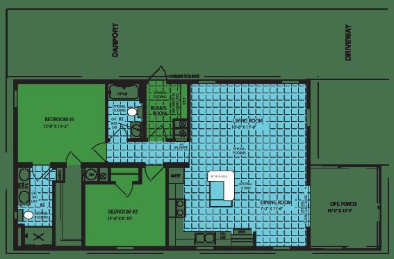 Zephyr Floor Plan