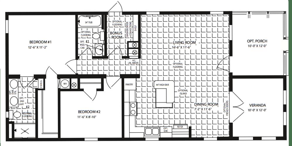 Zephyr 2 Floor Plan