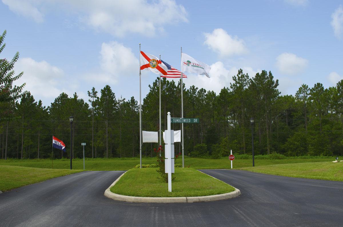 Southfork Entrance