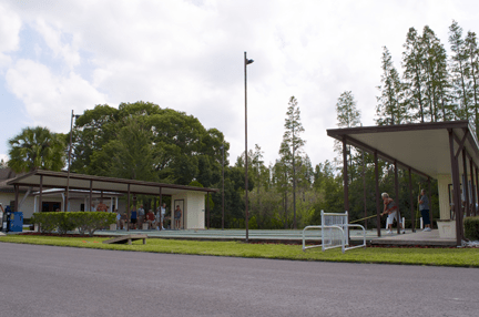 Orangewood Lakes Shuffleboard Courts