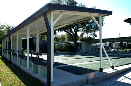 Ramblewood-Shuffleboard Courts